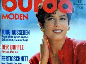 Burda Moden № 11/1991. Содержание. Ярмарка Мастеров - ручная работа, handmade.