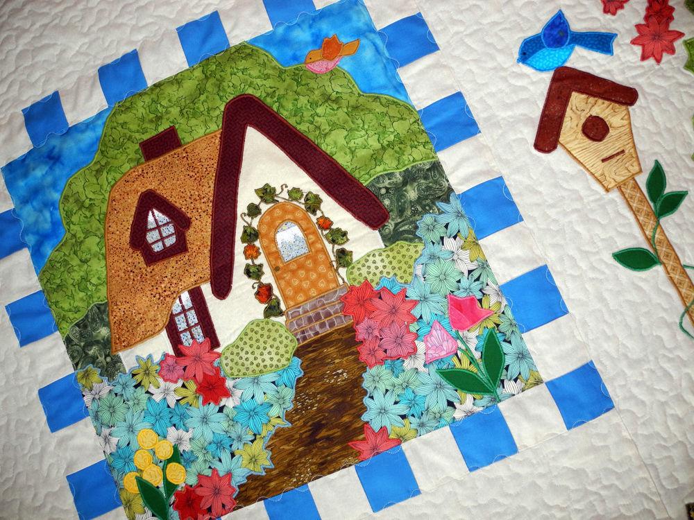 лоскутное шитье, лоскутное одеяло детское