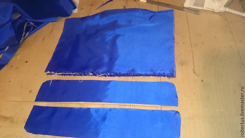 Мастер-класс: как сделать сумку с двойным фермуаром, фото № 18