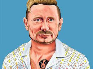 Amit Shimoni и его юмористическая серия портретов Hipstory. Ярмарка Мастеров - ручная работа, handmade.