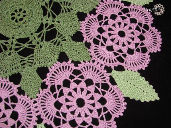 Цветочная салфетка: новая работа (новые фото) | Ярмарка Мастеров - ручная работа, handmade