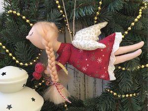 Розыгрыш новогоднего ангелочка. Ярмарка Мастеров - ручная работа, handmade.