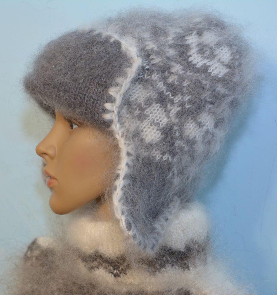 шапка вязаная, шапка мужская