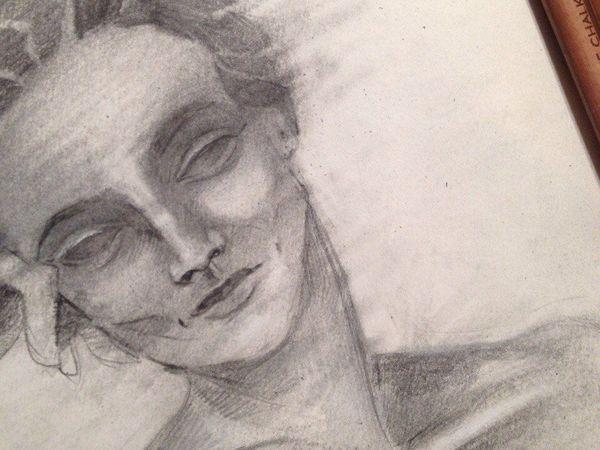 Love while drawing | Ярмарка Мастеров - ручная работа, handmade