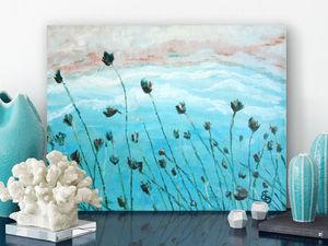 Грандиозная скидка 20% на картину «Дуновение ветра». Ярмарка Мастеров - ручная работа, handmade.