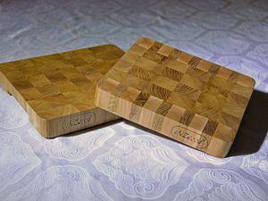 Процесс изготовления торцевой разделочной доски | Ярмарка Мастеров - ручная работа, handmade