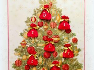 Рождественский православный календарь на 7 дней. Ярмарка Мастеров - ручная работа, handmade.
