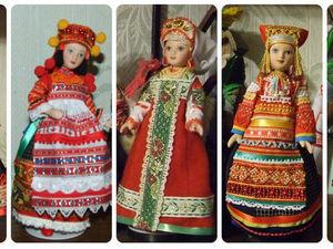 Мои куклы в русских костюмах, особенности русского костюма. Ярмарка Мастеров - ручная работа, handmade.