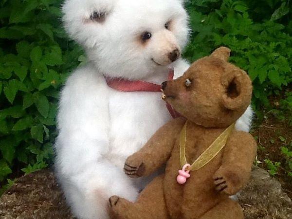 Как рождается медведь. Не медведь, а просто мишка. Мишка Милочка - малышка | Ярмарка Мастеров - ручная работа, handmade