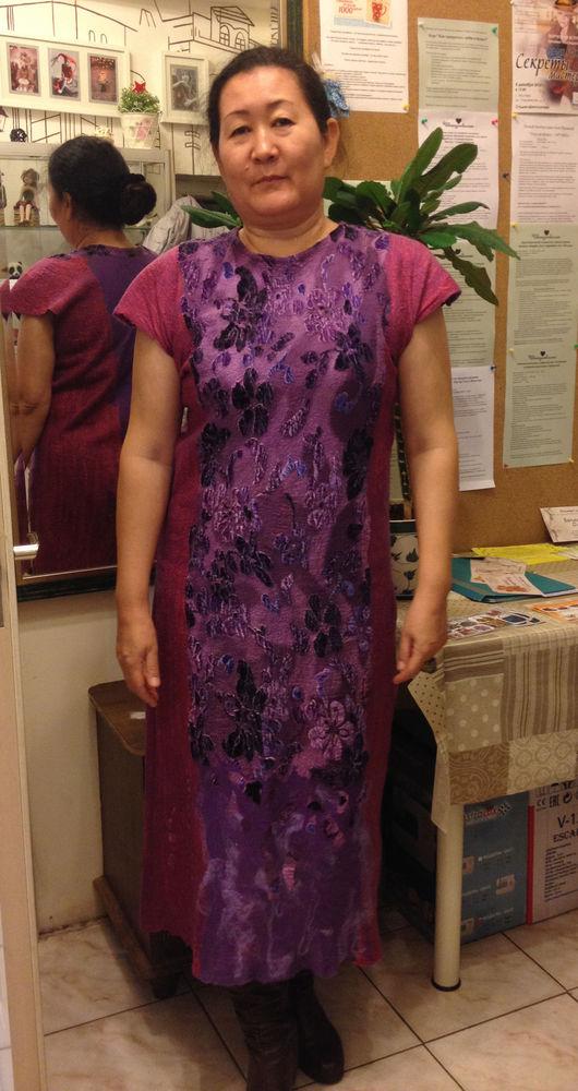 платье нунофелтинг