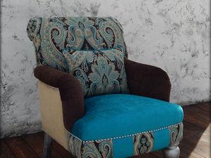 СКИДКА 20% на готовые интерьерные кресла. Ярмарка Мастеров - ручная работа, handmade.