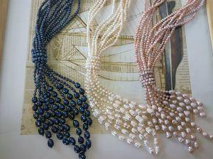 Жемчужные ожерелья. Скидка 20%. Сегодня и завтра.. Ярмарка Мастеров - ручная работа, handmade.