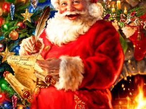 Поздравление с Новым Годом И Рождеством!!!. Ярмарка Мастеров - ручная работа, handmade.