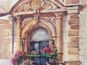 Цветочные балконы. Ярмарка Мастеров - ручная работа, handmade.