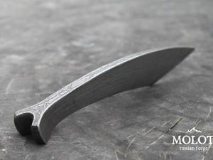 Мастер-класс по ковке ножа из дамасской стали | Ярмарка Мастеров - ручная работа, handmade