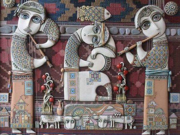 Душевное творчество армянского художника-керамиста Цолака Шагиняна   Ярмарка Мастеров - ручная работа, handmade