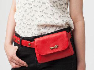 С чем носить красную сумку. Ярмарка Мастеров - ручная работа, handmade.
