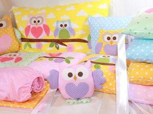 Новинка ! Комплект в детскую кроватку. Ярмарка Мастеров - ручная работа, handmade.