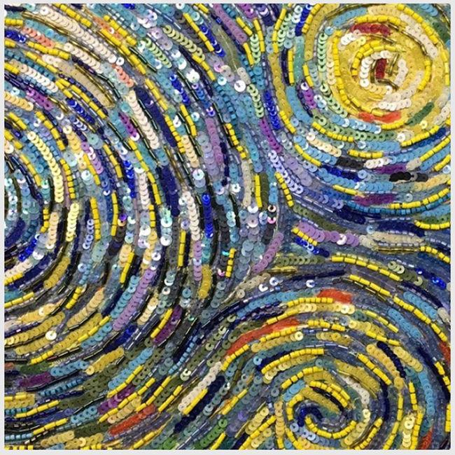 люневильская вышивка, картина