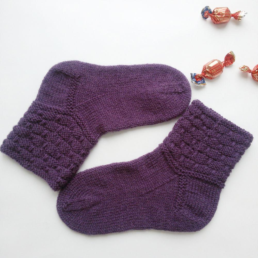 носки вязаные, женские носки, вязаные носки