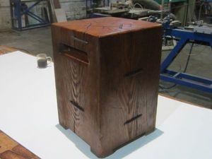 Мастерим табурет-кубик из цельного бревна. Ярмарка Мастеров - ручная работа, handmade.