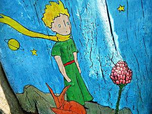 Рисунки на деревьях – Принц и эльфы на Красной Пресне. Ярмарка Мастеров - ручная работа, handmade.