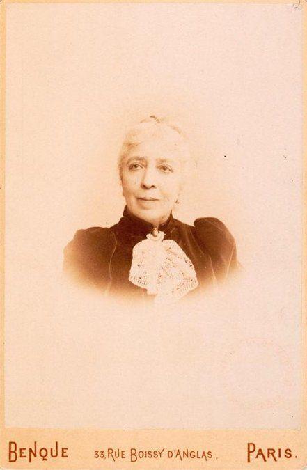 Женщина-чудо Полина Виардо в старости.