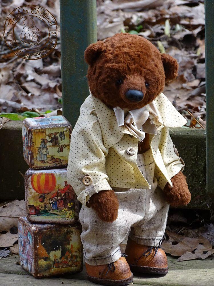коричневый, медвежонок