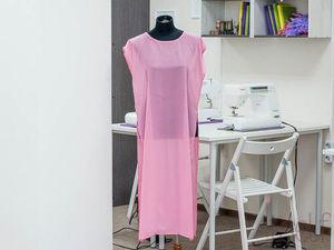 Шьем легкую летнюю тунику за пару часов | Ярмарка Мастеров - ручная работа, handmade