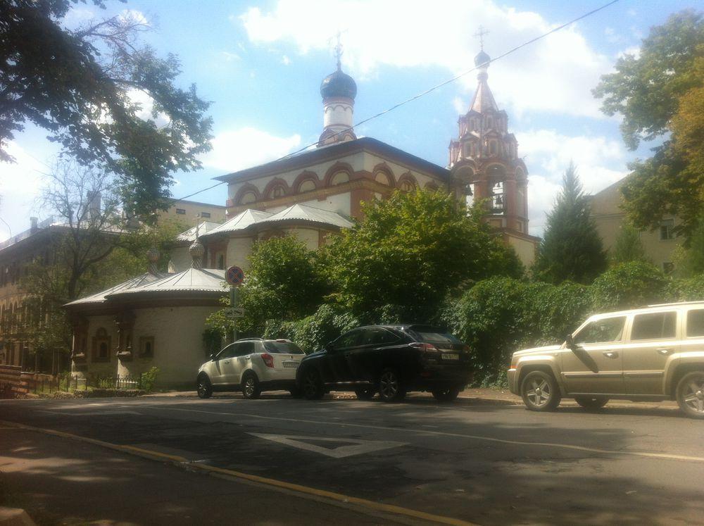 картина, церковь на кулишках
