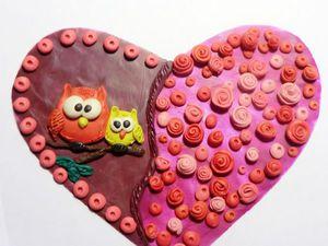 Творим с малышами милый подарок на День матери. Открытка «От всего сердца!». Ярмарка Мастеров - ручная работа, handmade.