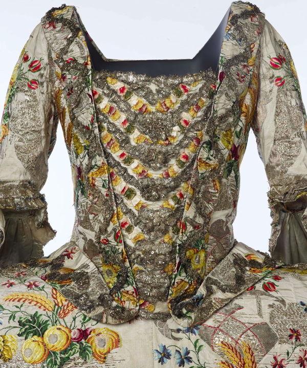 платье, золотное шитье
