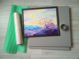 Упаковываем картины в раме для пересылки почтой. Ярмарка Мастеров - ручная работа, handmade.