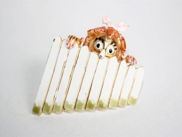Сюжетные броши. | Ярмарка Мастеров - ручная работа, handmade