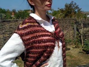 Дополнительные фото жилета Блики янтаря. Ярмарка Мастеров - ручная работа, handmade.