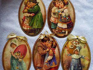 Сувениры в технике декупаж для Пасхальных ярмарок. | Ярмарка Мастеров - ручная работа, handmade
