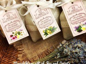 Новинка! Чай для ванн &amp&#x3B; Series of Home Spa. Ярмарка Мастеров - ручная работа, handmade.