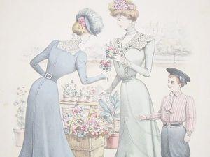 О, Париж, Париж! Французская мода и текстиль 19 века. Ярмарка Мастеров - ручная работа, handmade.