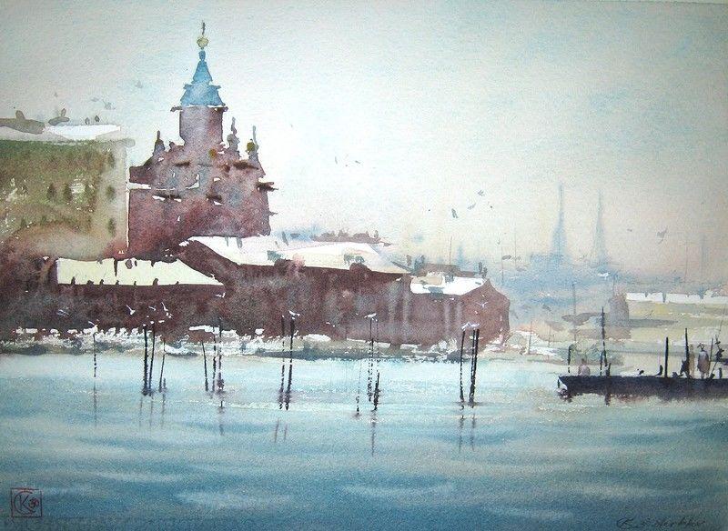 Акварельные миры Константина Стерхова
