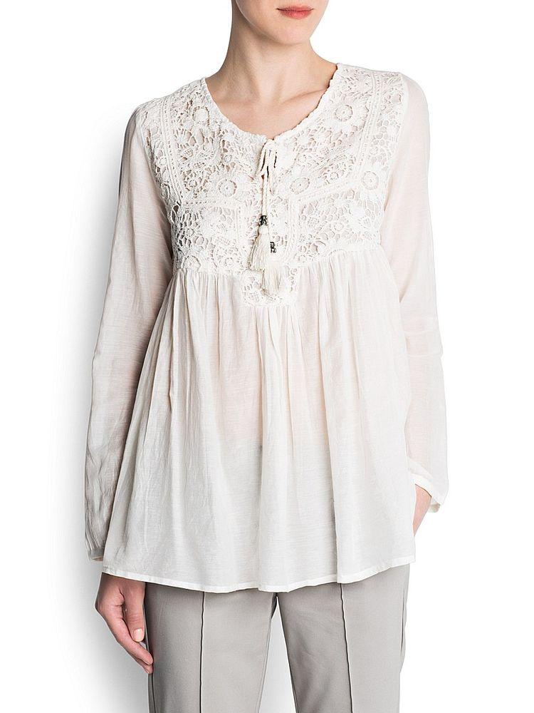 Белое бохо, или Шикарная одежда для королевы летнего пляжа, фото № 27