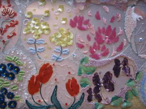 Панно, вышитые люневильским крючком Sally Lee. Ярмарка Мастеров - ручная работа, handmade.