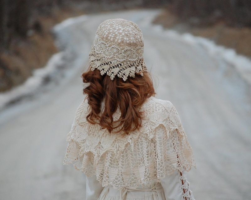 hat in the style boho