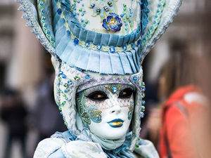 Refined, Elegant, Mystical: The Carnival of Venice. Livemaster - handmade