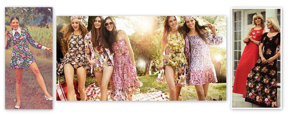 модные тенденции, цветочки