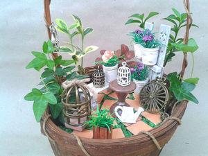 Делаем мини-сад своими руками. Ярмарка Мастеров - ручная работа, handmade.