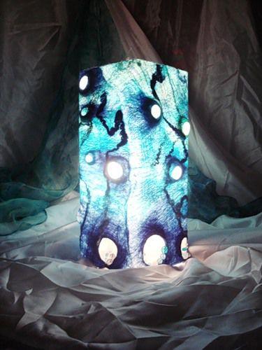 светильнок, светильник из шерсти