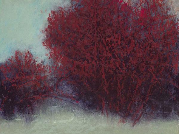 «Не как все»: деревья цвета бордо. George H. Shipperley | Ярмарка Мастеров - ручная работа, handmade
