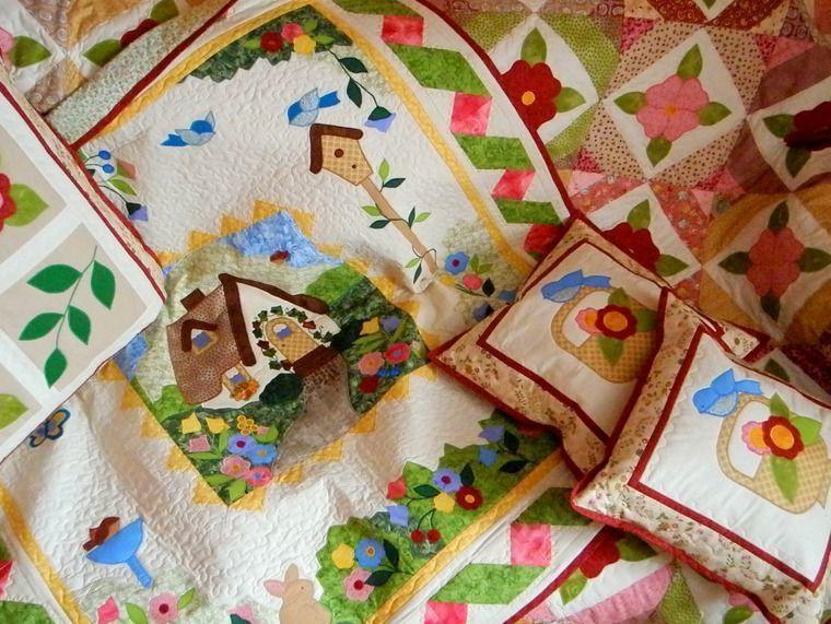 одеяло лоскутное, пэчворк одеяло