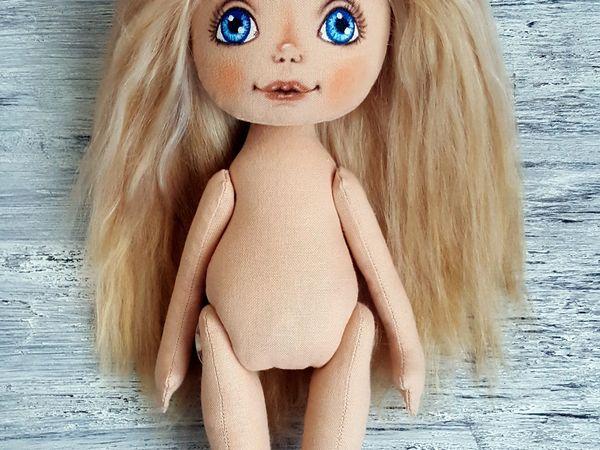 Шьем текстильную куклу   Ярмарка Мастеров - ручная работа, handmade