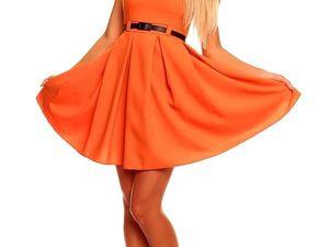 Вязаные и не только вещи оранжевого цвета. Ярмарка Мастеров - ручная работа, handmade.